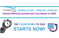 "Countdown 2030 Europe: ""Special Family Planning Summit Newsletter"""