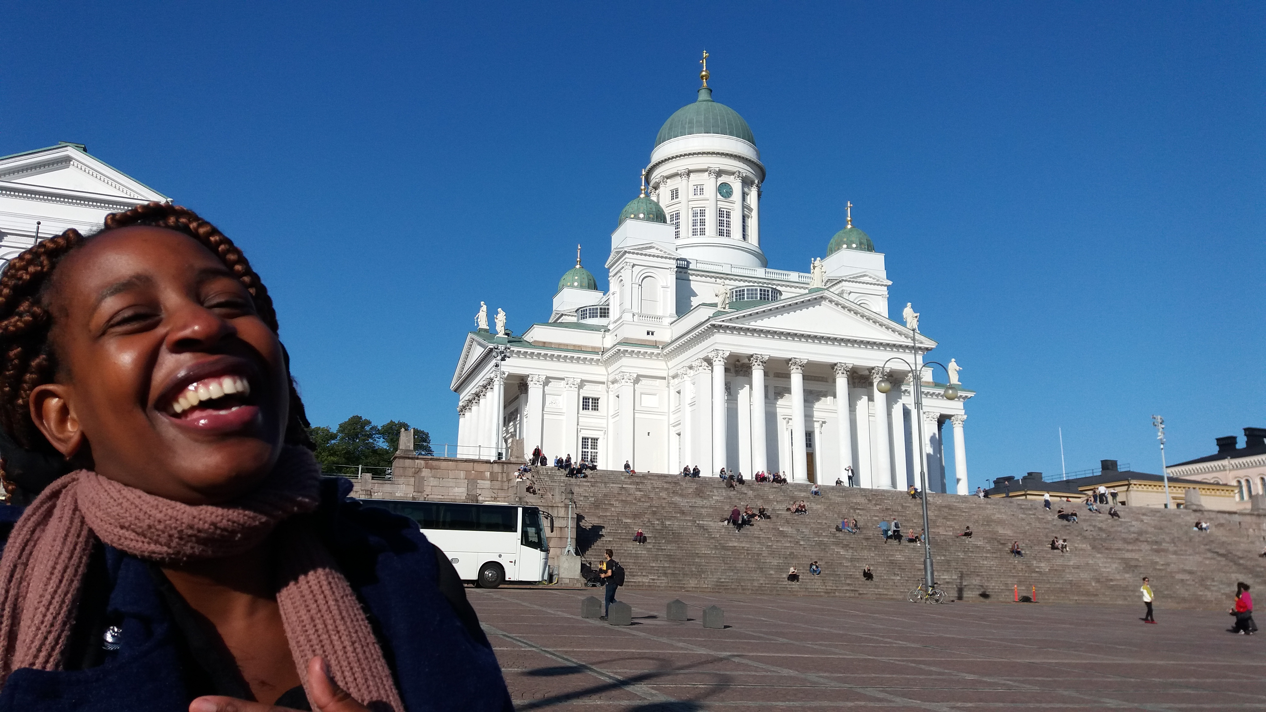 [Image: Prisca's Study Week in Finland]